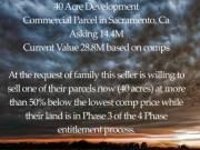 40 Acres Of Development Land