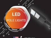 Commercial Grade Parking Lot – LED Pole Lights – Online USA