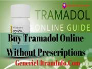 Buy Tramadol Online Without Prescriptions