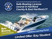 Connecticut boating Courses   Safe Boating License in East Hartford
