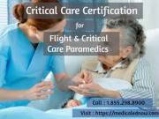 Online Critical Care Paramedic Course