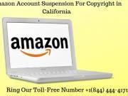 Amazon Suspension For Copyright in California