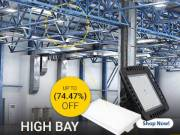 High Bay LED Lights -  An Unmatched Energy-efficient Lights