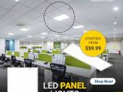 Redesign Your Office Space With Dimmable LED Panel Light
