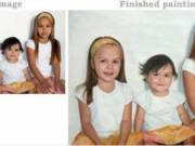 100% Handmade Custom Portrait Painting from Most Reliable Canvas Print Whole-seller, USA: Seven Wall