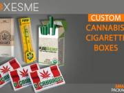Get Amazing Designs of Cannabis Cigarette Boxes From us