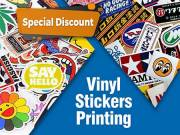 High-Quality Use of Vinyl Stickers Printing For Your Business| RegaloPrint