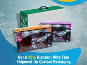 Get A 25% Discount With Free Shipment On Custom Packaging   RegaloPrint