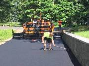 Hine Paving in Orange CT. providing driveway paving, sealcoating, crack fill and patching