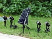 Factory sell Garden spots light , solar garden spot kits .