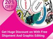 Get 20% Discount with Free Shipment and Graphic Editing - RegaloPrint
