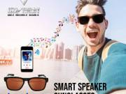 Sunglasses with speakers and Built-In Mic | Kaleo Classic GoVision USA