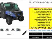 2019 ODES XF-3 1000cc Enclosed 4x4