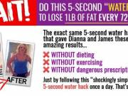 5 seconds water hack melts 62lbs