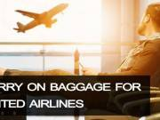 What are the advantages of United Airlines Flights carry-on allowance?