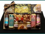 Savory Selections Meat and Cheese Gourmet Gift Board!