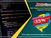 Solve Tough JavaScript Programming Assignment from Experts