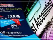 Explore Cost Accounting Help with Homework