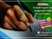 Consult Experts for Assignment Help in Los Angeles