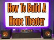 Learn to create your own movie theater at home