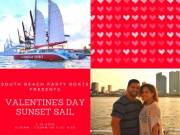 Super Bowl Weekend in Miami, Boat Show Booze Cruises, Valentine's Day, South Beach Spring Break