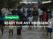 Safe & Reliable Power Battery for Hurricane Snowstorm