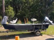 1987 J C Craft Boat & Trailer