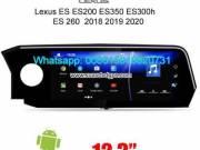 Lexus ES ES200 ES350 ES300h 2019-2020 Car radio android GPS camera