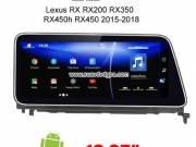 Lexus RX RX200 RX350 RX450h RX450 Car radio android GPS