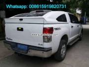 Toyota Tundra Pickup hardtop Canopy DIY Dmax Car Rear Inclined Cover