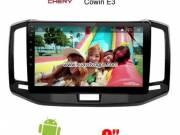 Chery Cowin E3 C3R Car Audio Radio Android GPS Navigation Camera