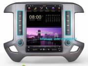 GMC Sierra Tesla Vertical IPS Android Radio GPS Navigation