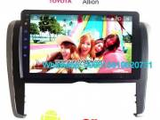 Toyota Allion Audio Radio Car Android wifi GPS Camera Navigation
