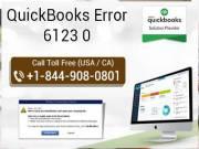 QuickBooks error 6123 0
