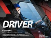 Drivers Required in Dallas, Texas