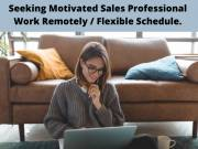 Seeking Motivated Sales Professional -Work Remotely with Flexible Schedule