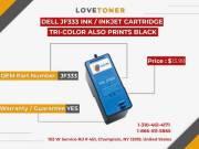 Dell Jf333 Ink / Inkjet Cartridge Tri-Color
