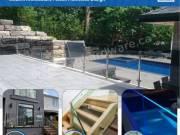 Custom Frameless Shower Doors and Glass Railing System