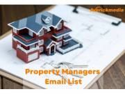 Get the Best Property Managers Email List from Averickmedia